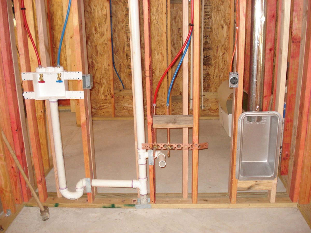 Photos Of Dryer Box Complete Library Venting Solutions Images Rough Electrical Wiring 22 Interesting Image Showing And Final Install A Model 425 Dryerbox