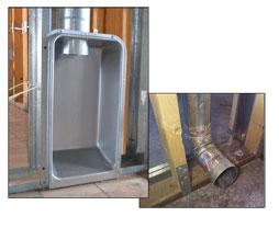 Dryer Offset Elbow Dryer Venting