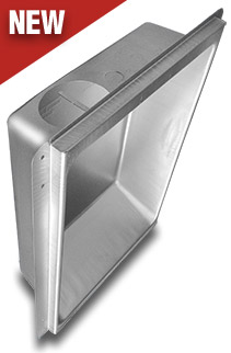 Universal Dryer Vent Box - Model 480